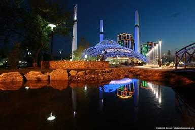 """Мечеть """"Сердце Матери"""" в городе Аргун"""