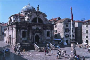 Церковь святого Власия- покровителя Дубровника