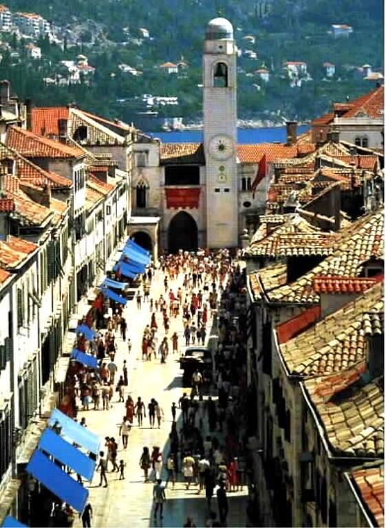 Страдун- главная улица в Дубровнике