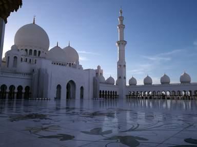 Экскурсия в мечеть Шейха Заеда