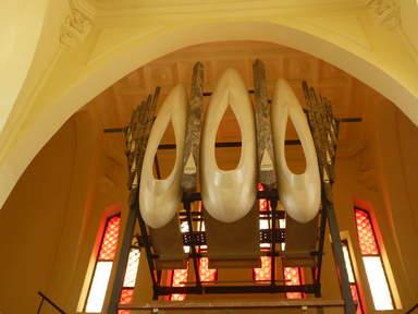 Орган в церкви  Санта Мария Магдалина. Новельда