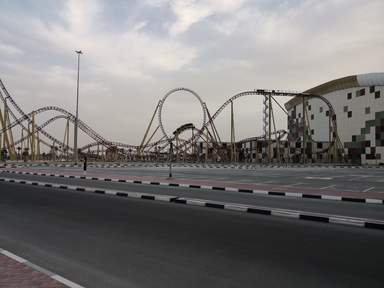Тематический парк IMG WORLDS of ADVENTURE в Дубае