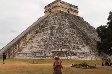 Чичен - итца пирамида Кукулькана
