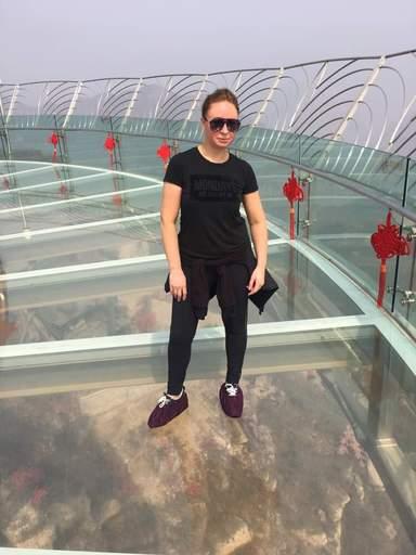 Стеклянная площадка в Пекине