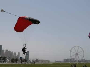 Прыжок с парашютом - Экстрим