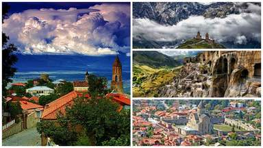 Сигнаги, Мцхета, Вардзия, тбилиси