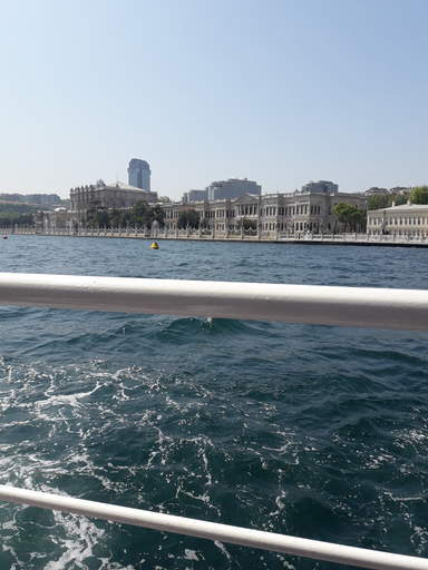 Долмабахче Дворец.Вид с моря