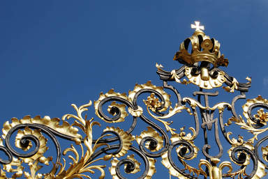 Фрагмент ворот на Пражском граде