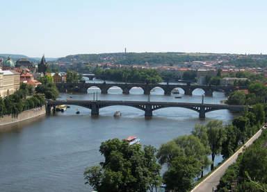 Мосты через Влтаву в Праге