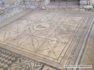 римские мозаики: Бог Хипнос II века н. э