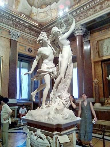 Апполон и Дафна  Бернини 17 век