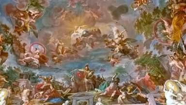 потолочная фреска 18 век