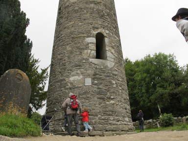 Круглая башня в Глендалок