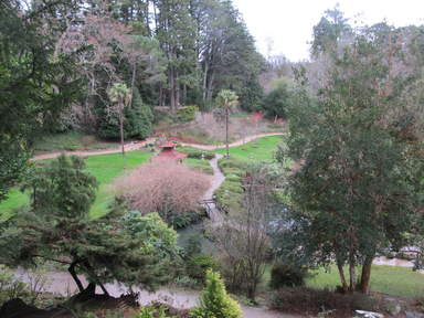 Японский сад садов Пауэрскорт