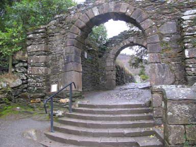 Входные ворота в Глендалок