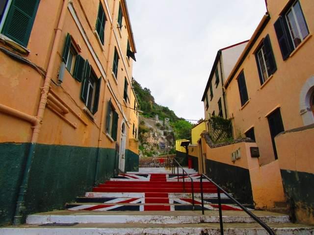 Британская символика на улицах Гибралтара