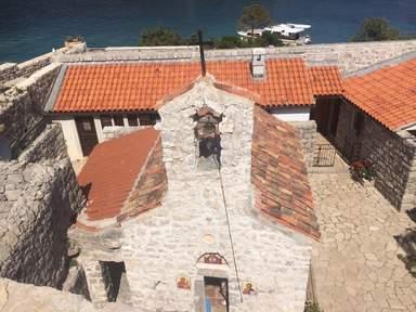 Введение во храм пресвятой Богородицы 15 век бвозле пляжа Мириште пресвято
