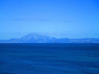 Вид на берега Морокко