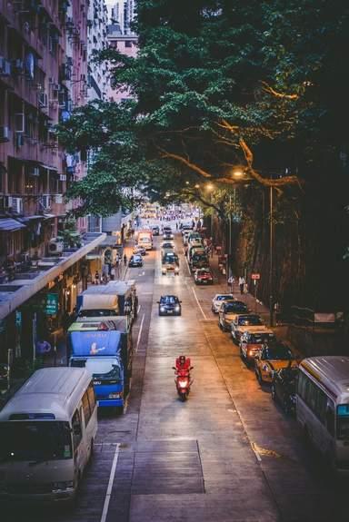 Улочка Гонконга