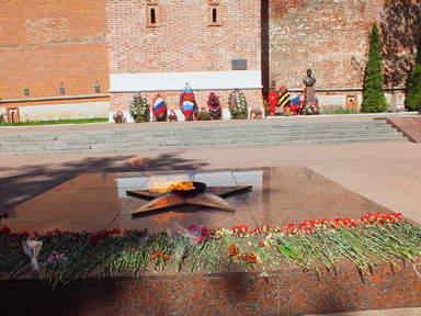 Сквер памяти героям в Смоленске