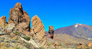 Скалы Гарсия и вулкан Тейде