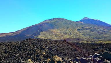 Вулканы Тейде и Пико Вьехо.