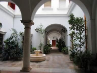 Андалузские патио в Севилье