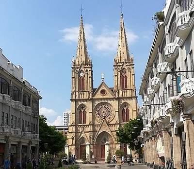 Католический храм в Гуанчжоу