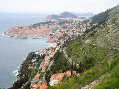 Дубровник. Панорама Старого города