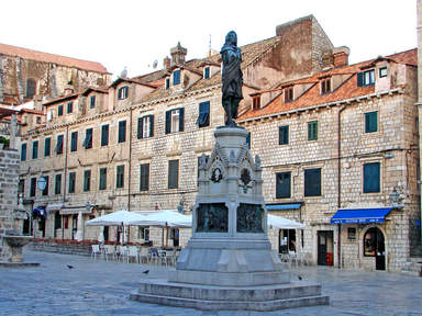 Дубровник. Площадь старого рынка