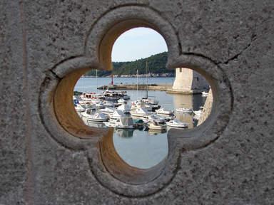 Дубровник. Порт Старого города