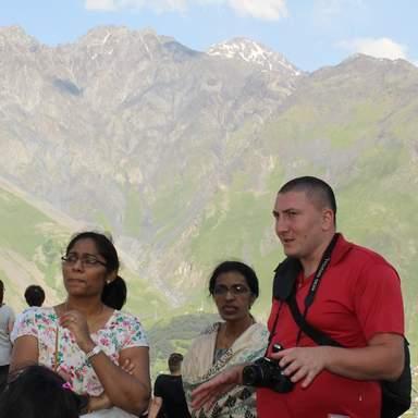 Церковь Святой Троицы-мои гости из Индии