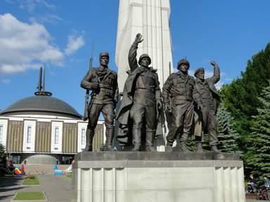 Памятник Антигитлеровской коалиции