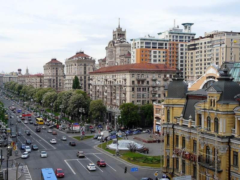 Крещатик- подиум столицы Украины