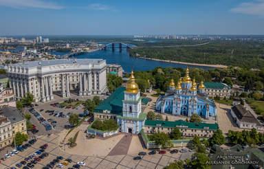 Михайловская площадь в Киеве