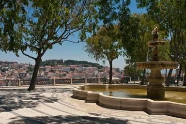 Смотровая площадка Сан Педро де Алкантара