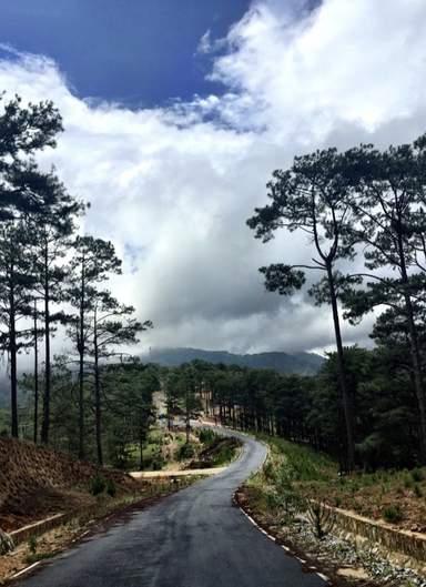 Горная дорога в Далат
