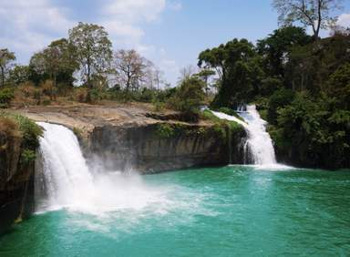 Водопад Драй Сап