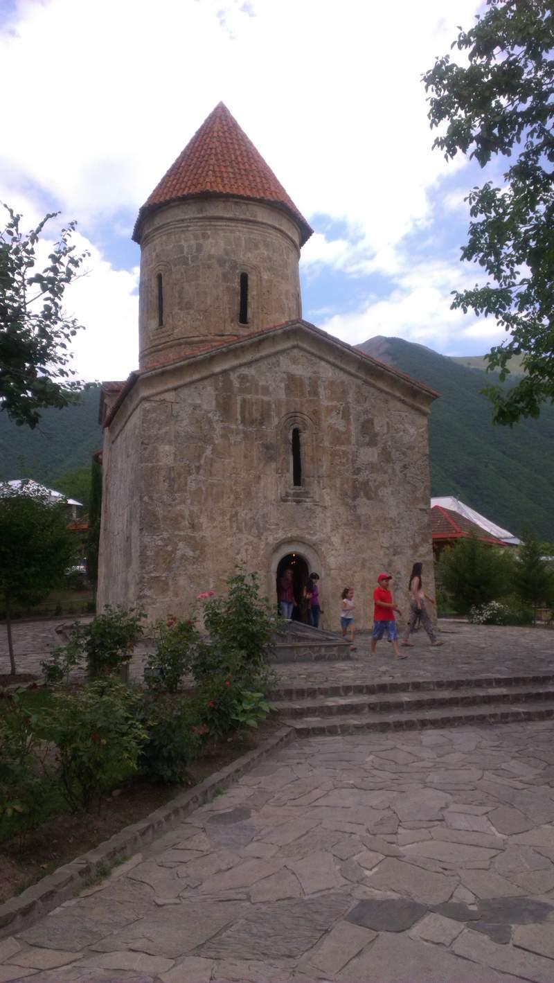 Албанский храм с селе Киш