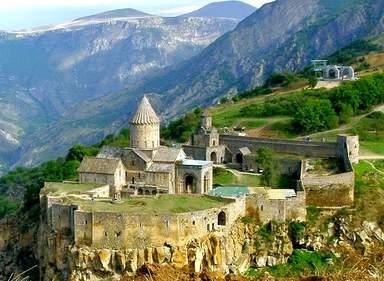 Татев является одним из самых известных монастырей Армении