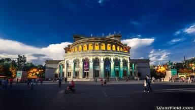 Здание оперы в Ереване