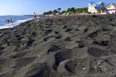 Магнитные пески в Уреки