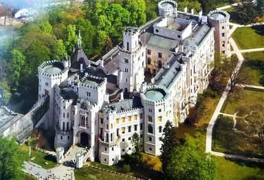 Вид на замок с верху