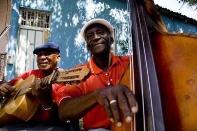 Музыканты на улицах Гаваны