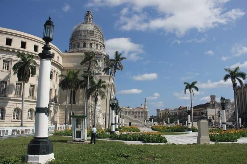 Капитоий в Гаване - нулевой километр