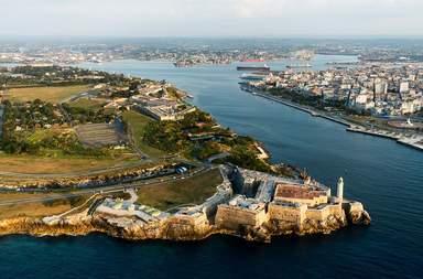 Вид на Гаванскую бухту