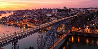 Вид на Порту