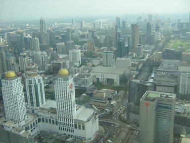 город с высоты 309 метров