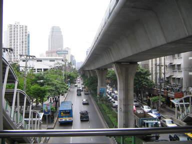 Бангкокское воздушное метро BTS