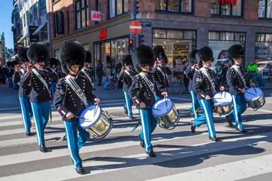 Парад Королевских солдат